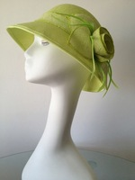 Fashion bow sinamay fascinators hats