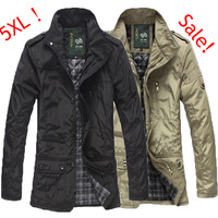 2013 outdoor men coat free shipping Men's Jacket waterproof brand new winter jacket men trench large size Coat Slim Fall Outwear