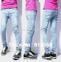 New big Size jeans Denim Men's pants/Fashion Men Long Trousers/ M~XXXL 4XL 5XL Large Size pencil Pants good quality/MFY