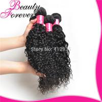 Mixed Length 6A 3Pcs/Lot Beauty Forever Peruvian Virgin Hair Deep Curly Human Hair Weave Weft, 8-26inch Peruvian Curly Hair