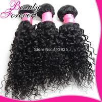 Malaysian Virgin Hair 3Pcs, Malaysian Curly Hair Weaves Cheap Human Hair Bundles Beauty Forever Free Shipping Hair Weft BFJC042