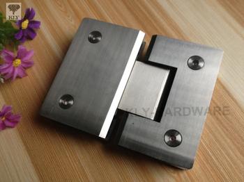 Glass clamp shower door hinge bathroom door hinge 180 degree