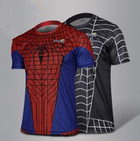 Iron Man 3 Short Sleeve T Shirt/ Novelty Iron Men Short T Shirt/ Spider Man Super Man Spiderman Captain American Short T Shirt