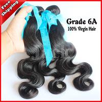wholesales Body Wave Indian Virgin Hair 2Pcs Lots Grade 5A  Size12-30 Inch Natural  Factory Kilo Price