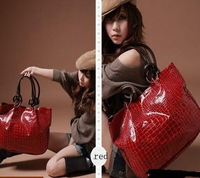 2013 Fashion New Women Ladys PU Leather purses handbags Totes HOBO Shoulder Bag free shipping