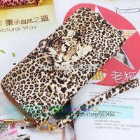 100pcs/lot Wholesale Price Fashion Style Hot Sale Pink PU Leather Men Women Wallets Zipper Leopard Wallet Sexy Design Purse
