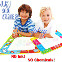 Free shipping  CP1363NC 72X69cm big size aquadoodle magic water mat/water drawing board/board drawing/magic water doodle/