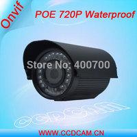 POE 720P IP Camera waterproof 1.0 Megepixel Surveillance camera security equipment EC-IP3143P