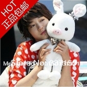 Hot sale ! free shipping 55cm Large pig bunny doll plush toy doll for children birthday gift for girls gift valentine gift