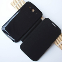 Original PU Leather Back Cover Battery Housing Flip Case for Samsung Galaxy Grand Duos i9082 i9080 9082 9080 Mobile Phone Cases