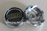 Free Shipping 4PCS 66MM High Quality Japan VOLK RAYS Wheel Center Cap Hub Cap VOLK Sticker Wheel Cover(Durable)