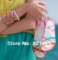 2014 new arrivals fashional women dress shoes huarache flat jelly beach slippers,Sandals,beach Wholesale/Retail