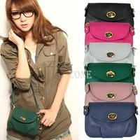 2013 New Fashion Handbag Women's Satchel Leather Shoulder Messenger Bag Cross Body Purse Bags 5703