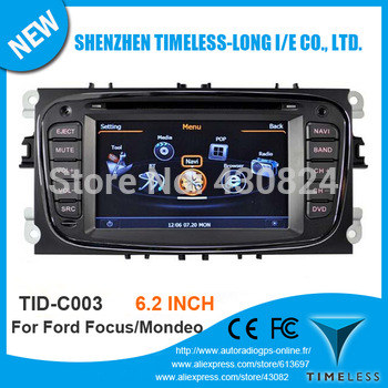Timeless-long A8 Chipset 3G WiFi Car DVD Player For FORD FOCUS MONDEO S-MAX C-MAX Kuga With GPS Radio BT Support DVR Free Map