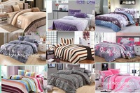 Free Shipping!  Discount Queen full twin size 4pcs bedding sets/bedclothes/ duvet covers bed sheet the bed linen home textile