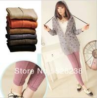 2013 Autumn thin women cotton leggings size free and plus size