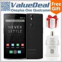 Original Oneplus One 64GB Qualcomm Snapdragon 801 Quad Core 5.5inch 1920*1080 Gorilla Glass 4G FDD LTE Phone 13MP Camera OTG NFC