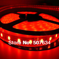 New promotion price!10m/lot wholesale SMD 5050 RGB 60leds/m DC12V 24V IP65 IP66 waterproof LED strip light for garden decoration