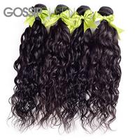 unprocessed virgin brazilian hair natural wave brazilian virgin hair 4pcs free shipping human hair weave no tangle and very soft