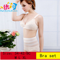 9032 [ High quality protects] up-to -date maternity set of underwear underpants and cotton nursing bra