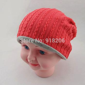 #HC009 Children Baby Cap Hats Thread Infant Cotton Kids' Spring&Winter Beanie