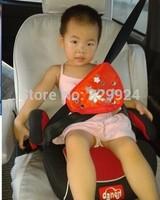 2 pcs/Lot Free Shipping children car safety belt adjuster/ baby auto seatbelt positioner 4 colors