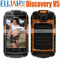 """2015 Hot Discovery V5 V5+ Shockproof Smart Android 4.0 3G phone 3.5"""" Capacitive MTK6515 Dual SIM mtk6515 Dual Camera Bluetooth"""