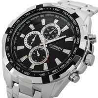 Curren Men's Wristwatches Full Steel Watch Men Sports Watches Men Quartz Watch Tag Analog Men Dress Watch Clock Free Shipping