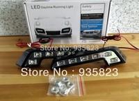 Wholesale discount New 2pcs Super White12W Car  LED Universal aotu Daytime Running DRLparking