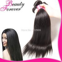 Peruvian Virgin Straight Hair Weaves 3pcsLot Unprocessed PeruvianVirgin Hair Extensions FreeShipping Beauty Forever BFST006