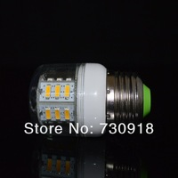 free shipping 5630 24led 7.2w 720lm 220v E27/E14 white light 50pcs one lot wholesale CE&RoHS certificated