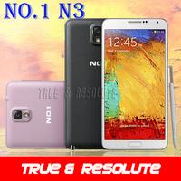 "Original 1:1 N9000 NO.1 N3 Note 3 Android 4.2 MTK6589T Quad Core Cell Phone 5.7"" 1GB RAM 8GB ROM 13.0MP Camera Dual Sim 3G WCDMA"