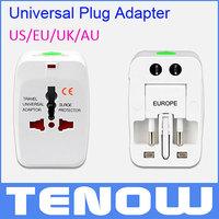World Universal AC Power Adapter Plug EU US UK Extension International World Travel Adaptor