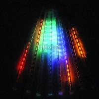 30CM christmas lights Meteor Shower Rain Tubes LED Light for Party Wedding Decoration 110-220V White/Blue EU Plug b8 CB024532