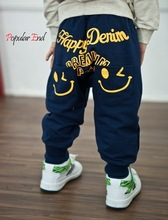 Excellent !2014 Kids Boys Autumn Pants Loose Casual Cotton Pants Sports Trousers Harem Pants b7 SV009847(China (Mainland))