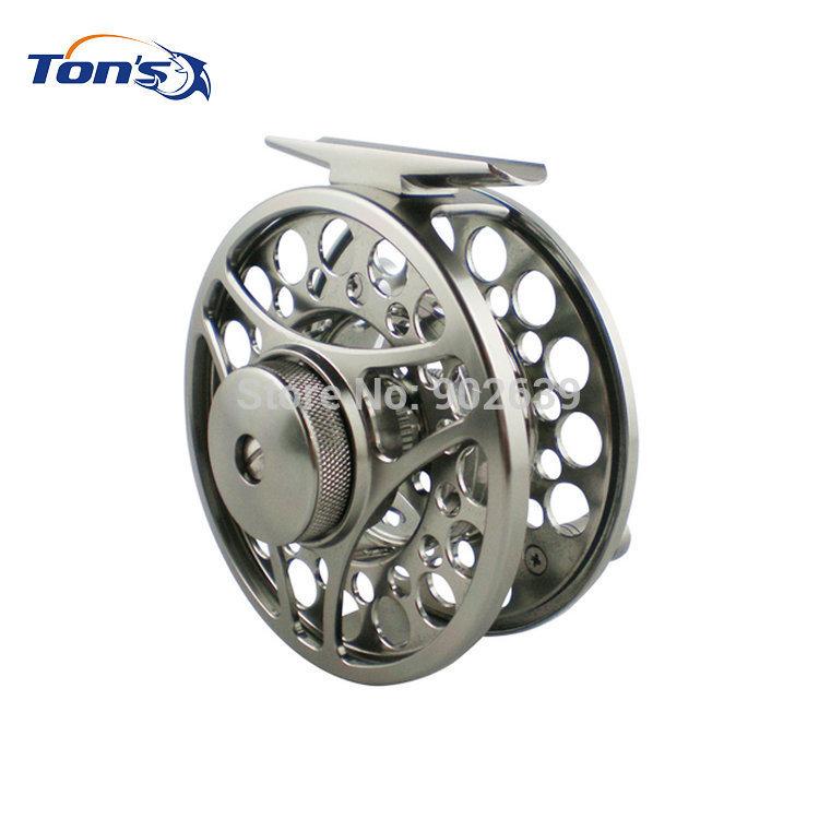 En alliage d'aluminium de coupe de machine moulinet de pêche v3 7/8