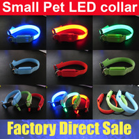 Cat Dog Safety LED Collar For Small Pet Size 24-28CM