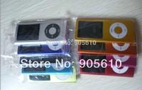 "4th  Slim 1.8""LCD 16GB MP3 MP4  Player  FM Radio Player Medio 9COLORS Free shipping!!!"