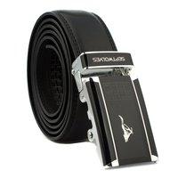 Wholesale 2015 new  fashion leather belt for men black belts  men buckle belt  as gift Free shipping