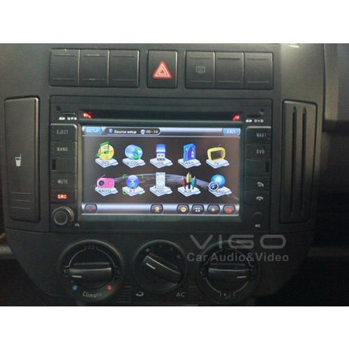 GPS Sat Nav Navigation for VW Passat Jetta Bora Polo Golf Citi Golf Chico Sharan Transporter Vehicle Headunit Autoradio Stereo(Hong Kong)