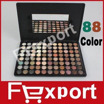 88 Color Eyeshadow Eye Shadow Mineral Makeup Make Up Palette Set,  88W