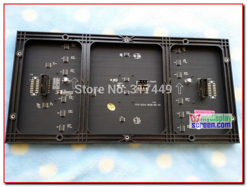 10mm pixel  full color module indoor/semi-outdoor hub 75 1/8 scan 320*160mm 32*16 pixel smd 3 in 1 rgb display  p10 led module