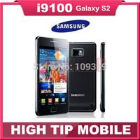 EU version Free gift Samsung I9100  unlocked original Galaxy S2 S II android mobile phones Dual core 3G Wifi GPS 8MP Refurbished