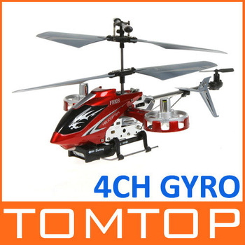 F103 RC Helicopter 4CH 4 Channel Gyro LED Mini LED I/R Metal Model RTF Red/Grey/Blue free shipping dropshipping Wholesale