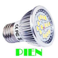 5630 LED Lamp 6W E27|E14|GU10 SMD 15 LED Spot Bulb High Power Home Living room 110V 220V Free Shipping 5pcs/lot