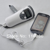 LED Flashlight+Digital AM/FM scan radio+dynamo hand power  +mobile charge