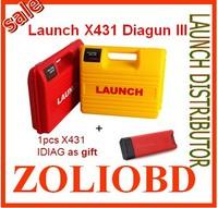 2015 End On promotion DHL free 100% Original launch x431 diagun iii free update online multi languages launch X431 Diagun 3