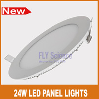 Ultra brighter 24W led panel lights kitchen bathroom bedroom  white ceiling downlighting lamps