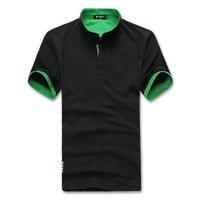 2014 New style High quality men's t shirt short sleeve casual slim fit stylish t-shirt men, 5 colors, size: M-XXXL