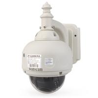 P2P 3x Optical Zoom PTZ IR Cut Lens:4-9 mm Wireless Dome Waterproof Outdoor IP Night Vision Webcam Security Surveillance Camera